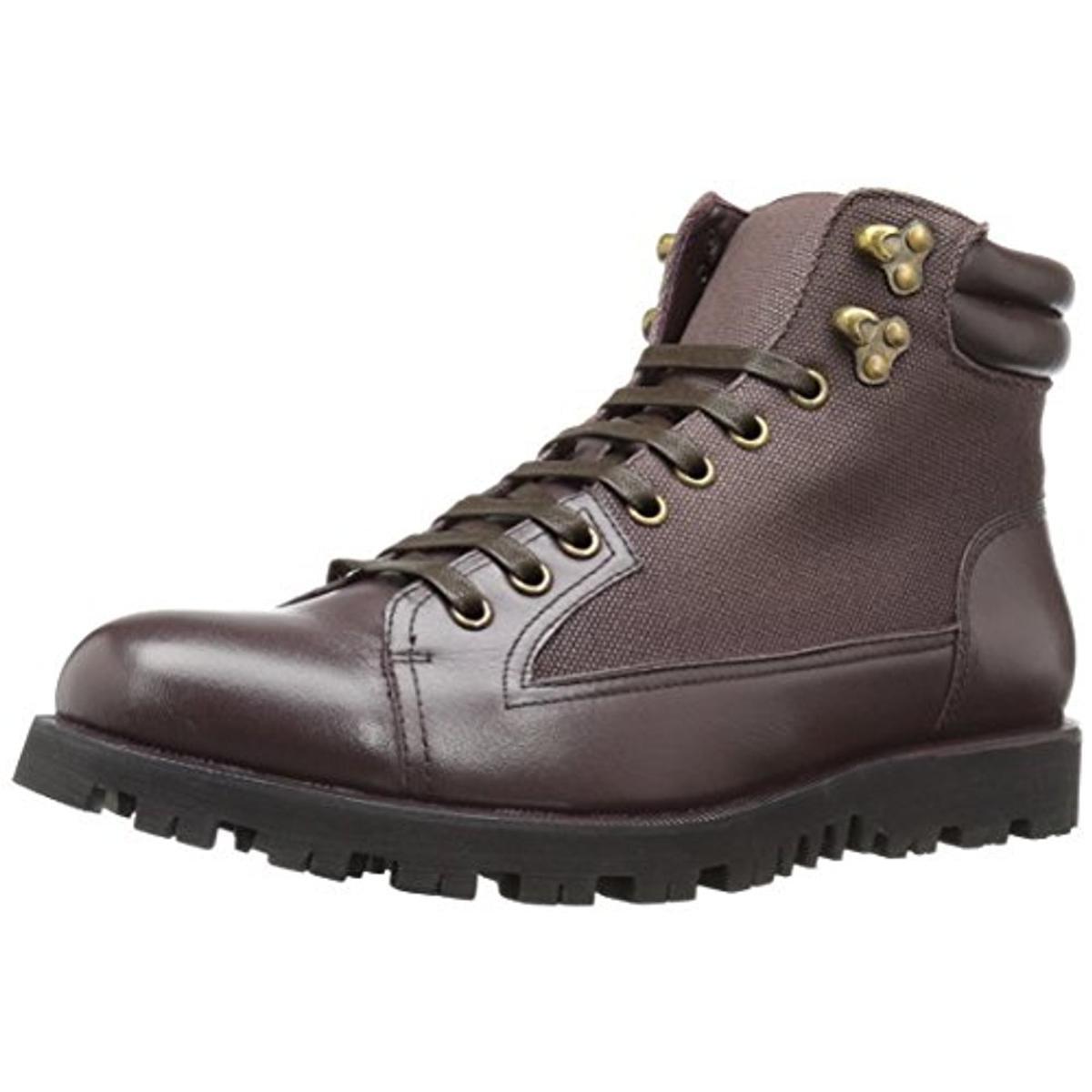 Zanzara Mens Cremona Leather Textured Ankle Boots