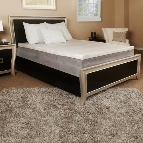 Luxury Solutions 12'' Gel Memory Foam Mattress