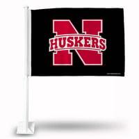 Nebraska Car Flag