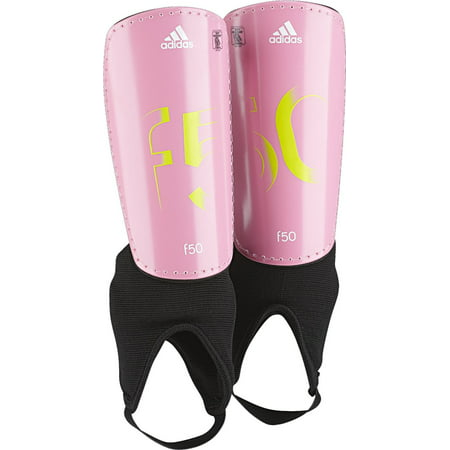 Adidas Performance F50Pro Youth Shin Guards (Multiple Colors and Sizes) Adidas Red Shin Guard
