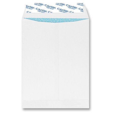 - Columbian, QUACO929, All-purpose Catalog Envelopes, 100 / Box, White