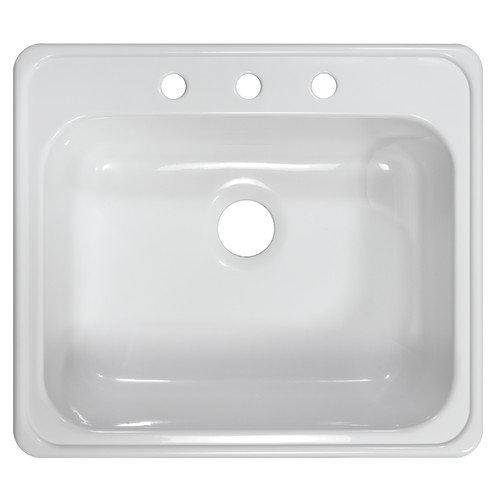 Lyons Industries Deluxe 25'' x 22'' x 9'' Kitchen Sink