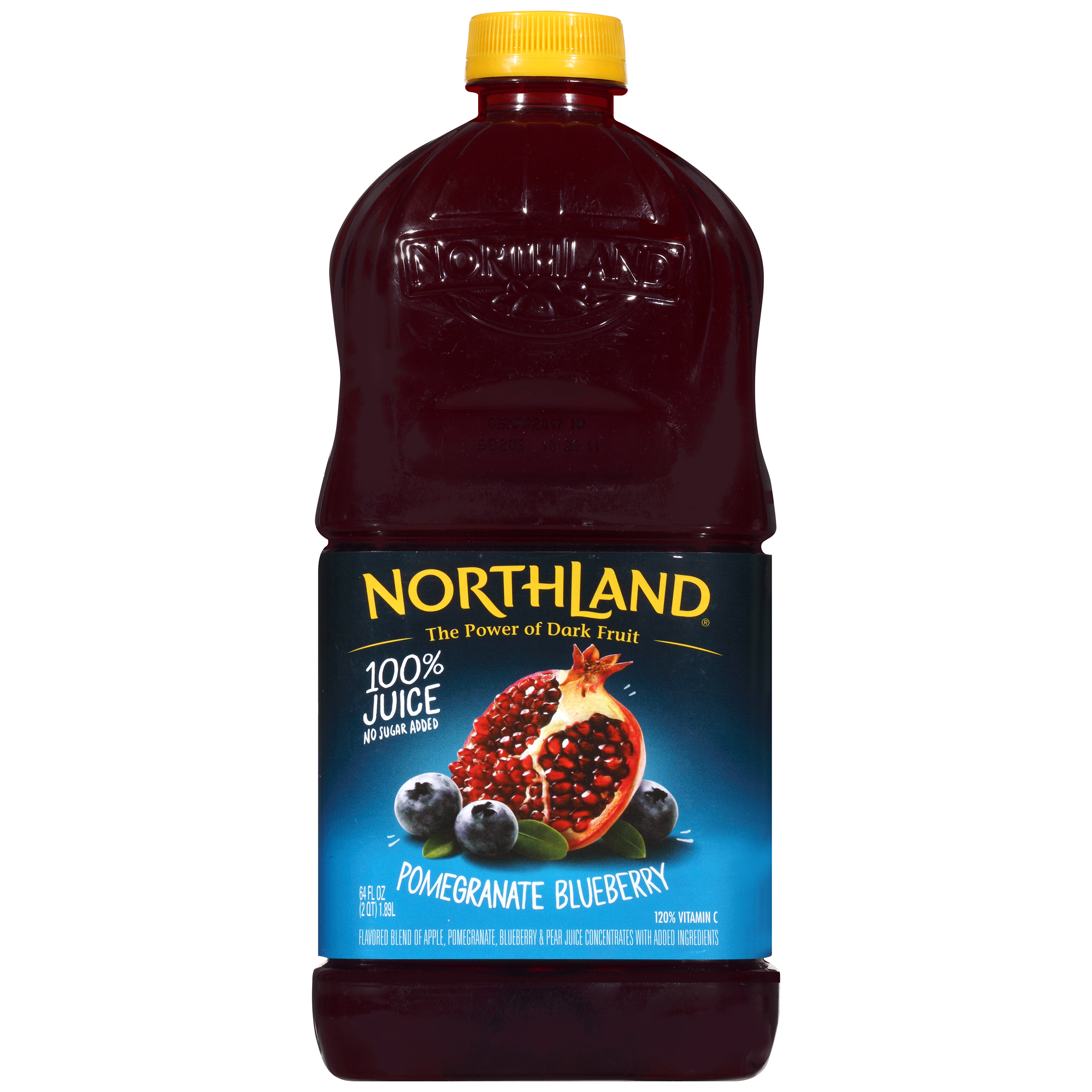 Northland 100% Pomegranate Blueberry Juice, 64 Fl. Oz.