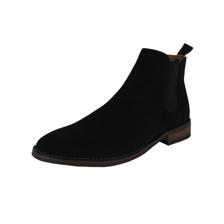 8f9ebb9ff2a Madden By Steve Madden Mens M-Vince Slip On Chelsea Boot Shoes, Black, US  7.5