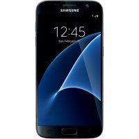 Straight Talk SAMSUNG Galaxy S7 4G LTE, 32GB Black - Grade A Refurbished Prepaid Smartphone