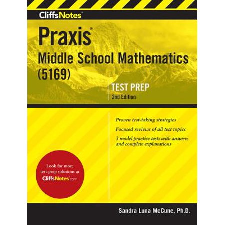 CliffsNotes Praxis Middle School Mathematics (5169), 2nd Edition](Halloween Math Game Middle School)