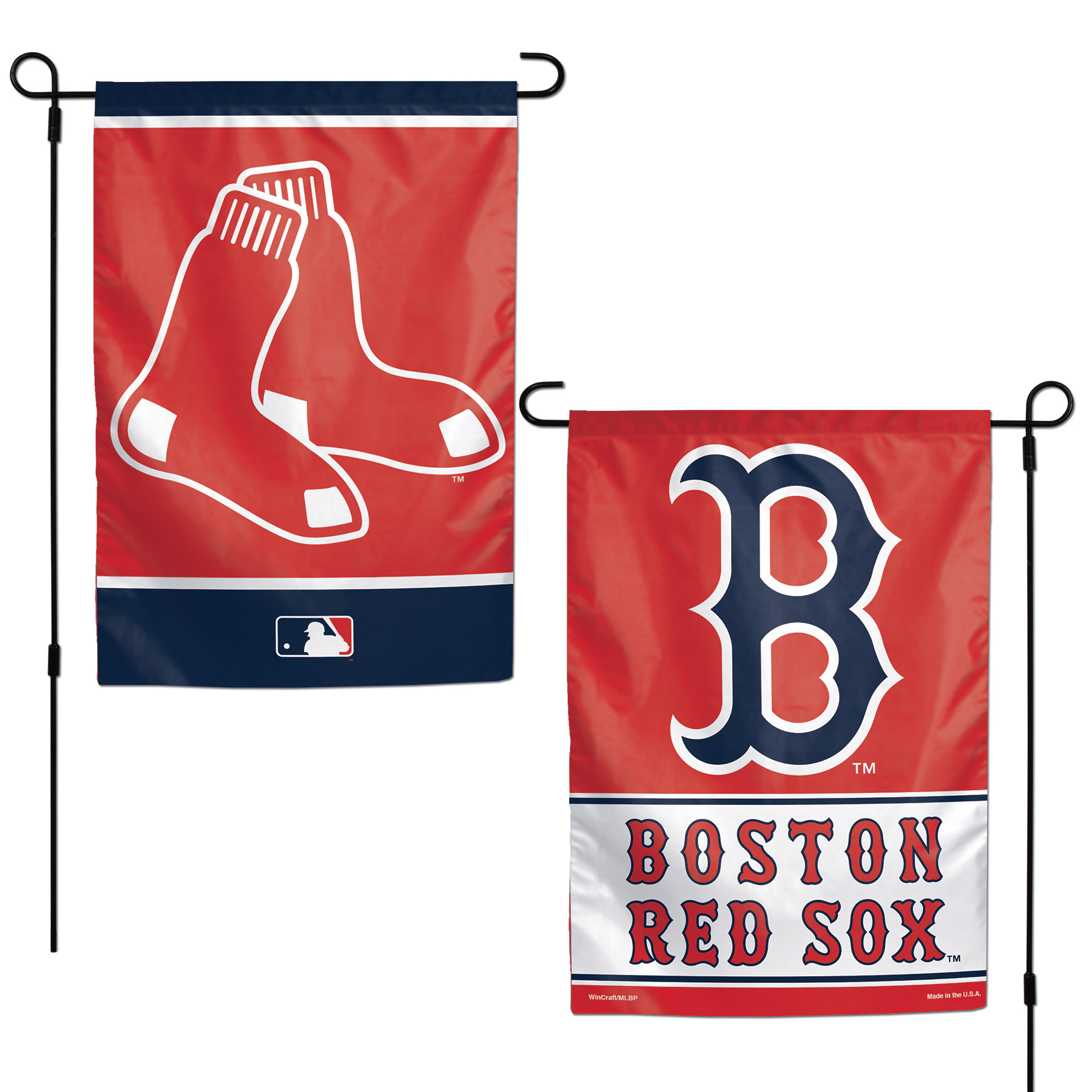 "Boston Red Sox WinCraft 12"" x 18"" Double-Sided Garden Flag - No Size"