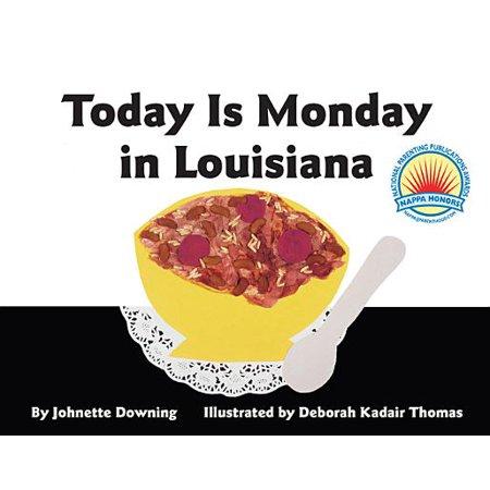 Today Is Monday in Louisiana (Board Book) - When Is Halloween In Louisiana
