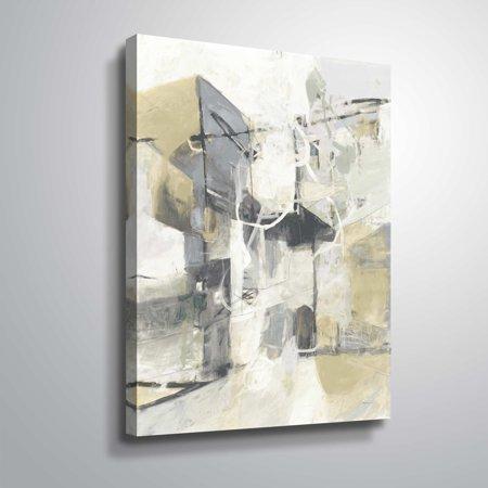 Anderson Gallery (ArtWall  CJ Anderson 'Skyline II Archroma' Gallery Wrapped Canvas - Grey )