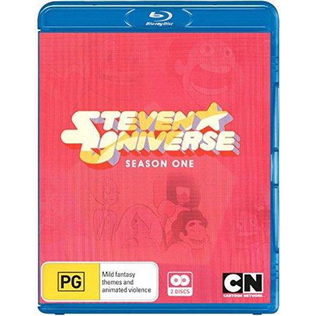 Steven Universe (Season 1) - 2-Disc Set ( Steven Universe - Season One (52 Episodes) ) [ NON-USA FORMAT, Blu-Ray, Reg.B Import - Australia