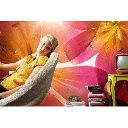 Brewster home fashions komar summer sun wall mural for Brewster home fashions komar wall mural