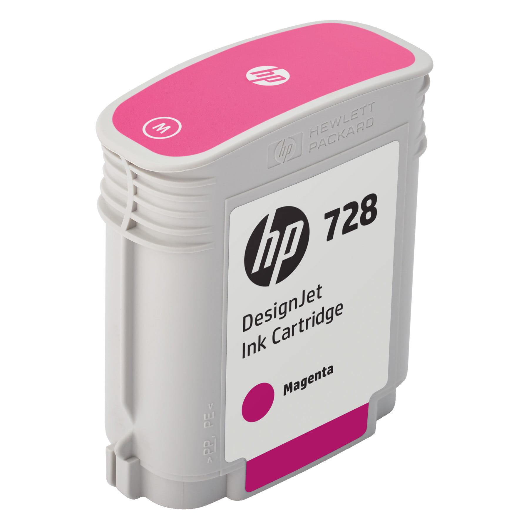 HP 728 (F9J62A) Magenta Original Ink Cartridge, 40 mL