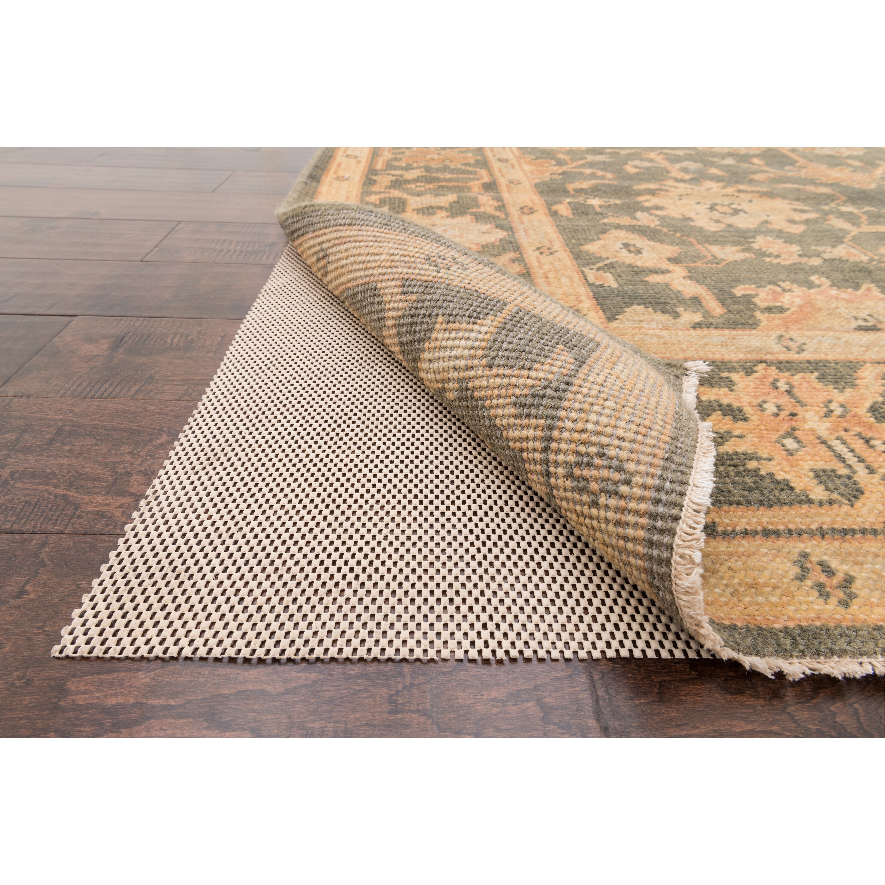 Alexander Home Supreme Non-slip Beige Rug Pad (3' x 5') by Overstock