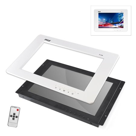 PYLE PLVW125U - 12.5'' Video Monitor Panel Display Screen, Full HD 1080p Support, HDMI/RCA/VGA Connectors (Universal Mount: In-Wall / In-Vehicle Custom Installation) ()