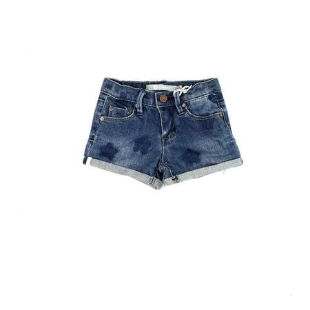 3c298cce713be Tractr Wash Denim Girls Cuffed Star Print Stretch Shorts - Walmart.com