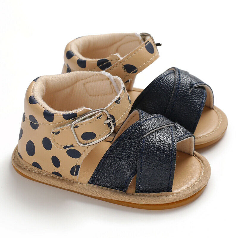 tan baby girl sandals