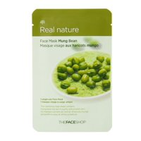 The Face Shop Real Nature Mung Bean Face Mask