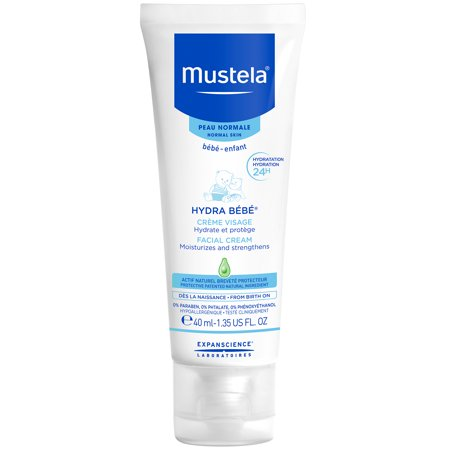 None Creme (Mustela Hydra Bebe Facial Cream, Gentle Baby Face Cream 1.4 Oz)