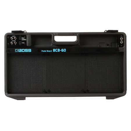 Bcb 60 Pedal Board Case (Boss BCB-60 Lightweight Deluxe Pedal Board and Case - Black)
