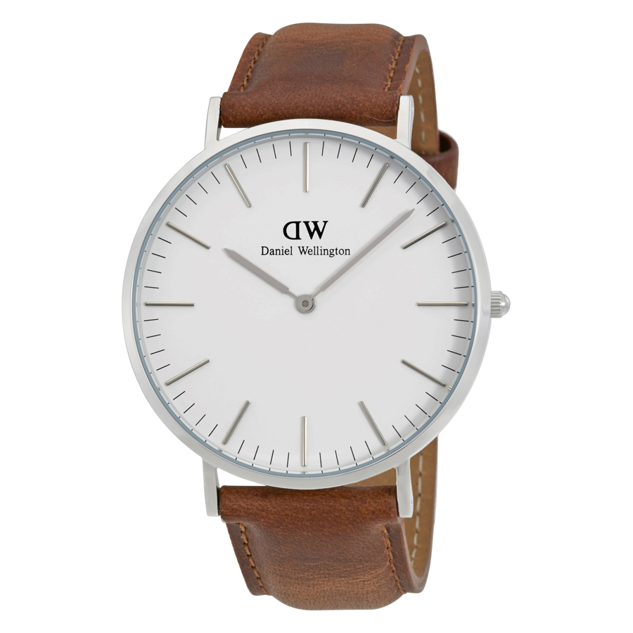Daniel Wellington Durham White Dial Mens Watch DW00100110
