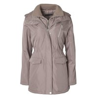 Womens Zip-Front Hooded Anorak with Vestee