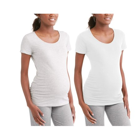 Fun Pregnancy T Shirts (Maternity Scoop Neck Tee 2 Pack - Available in Plus)