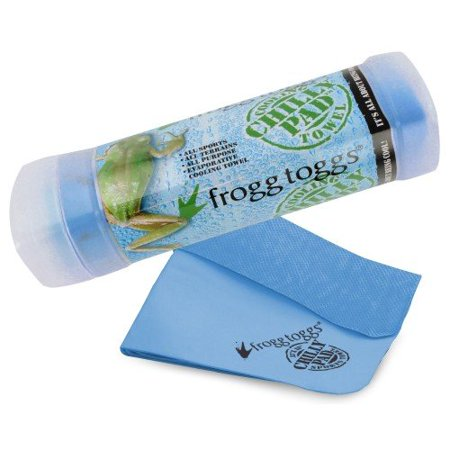 Cooling Chilly Pad Towel 33 X 13 Blue Soft Comfort Frogg Toggs Chilly Pad