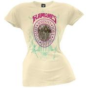 Ramones - Wall Photo Seal Premium Juniors T-Shirt - Large