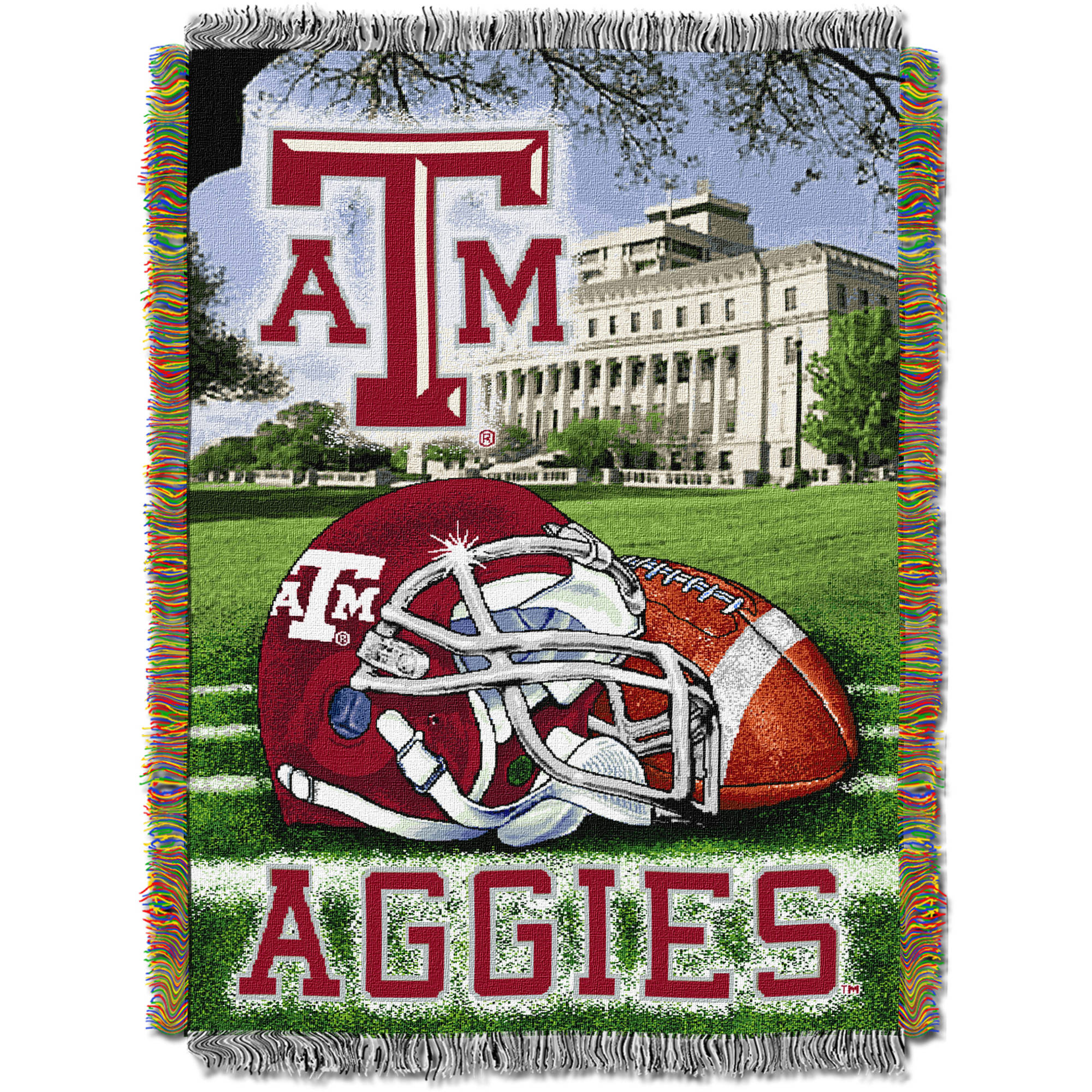"NCAA 48"" x 60"" Tapestry Throw Home Field Advantage Series- Texas A&M"