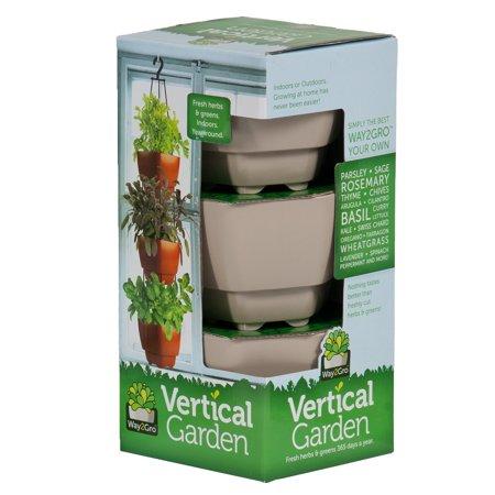 Radius Garden Way2gro Herb And Lettuce Hanging Vertical
