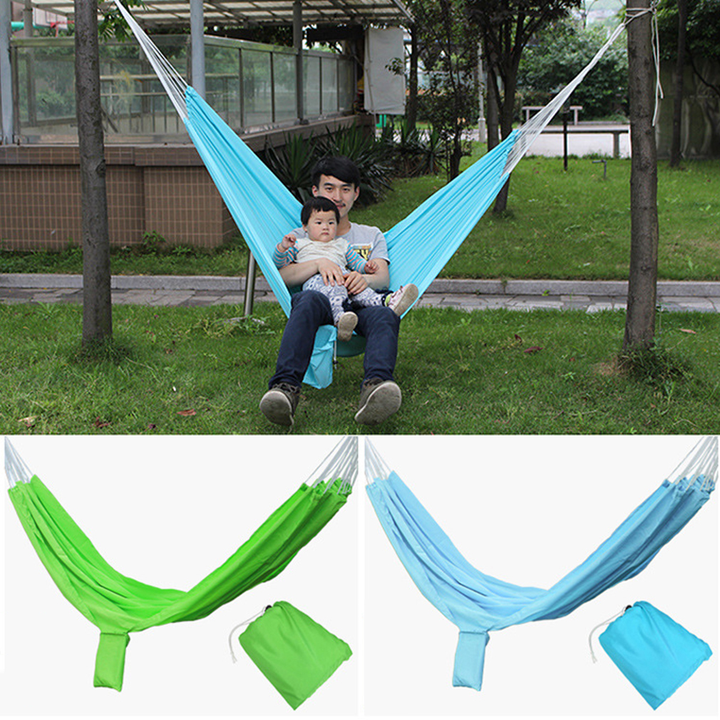 OUTAD Outdoor 2-Person Portable Hammock Parachute Hammock Hanging Hammock for Travel by
