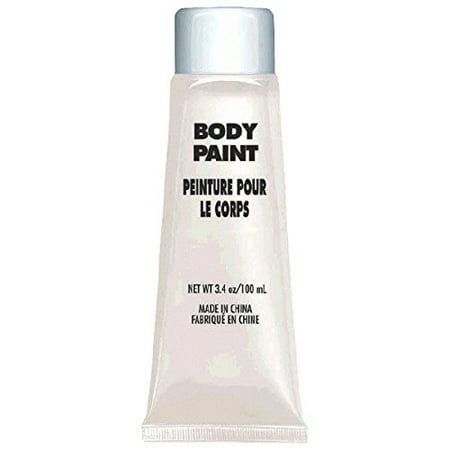 White Body Paint - Net WT. 3.4 oz](White Face Paint Halloween Makeup)