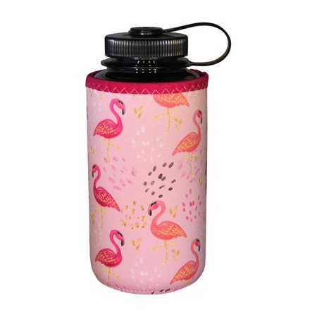 Koverz XL - #1 Neoprene 32-40 oz Water Bottle Insulator Cooler Coolie - Pink - Mason Jar Water Bottle