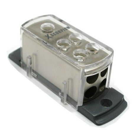 4 8 gauge power platinum distribution block car audio ... car audio wiring block