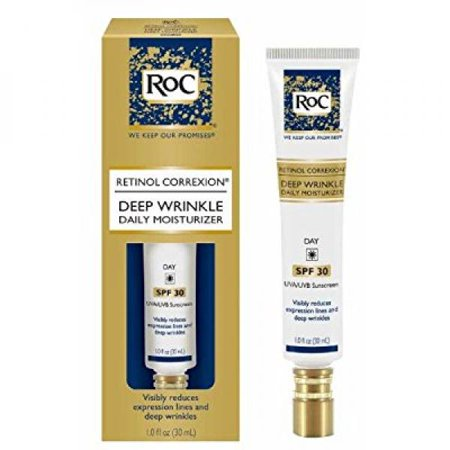 Deep Wrinkle Filler Set - RoC Deep Wrinkle Daily Moisturizer SPF30, 1 Oz