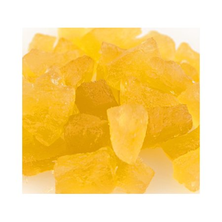 Paradise Natural Pineapple Yellow Wedges Candied Fruit Glaze 2 pounds