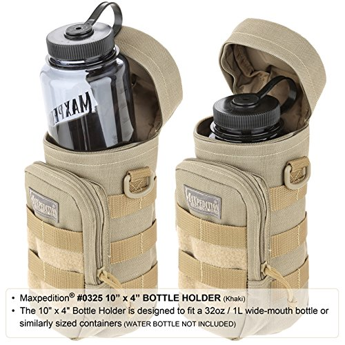 """Maxpedition 10"""" x 4"""" Bottle Holder"""