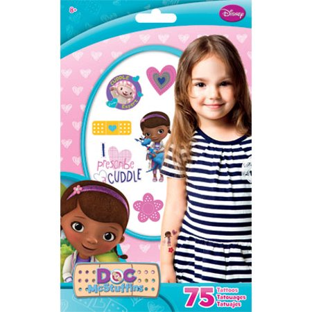 Standard Tatto Bag - Doc Mcstuffins - Temporary Kids Games Toys tt2047 - Doc Mcstuffins Tattoos