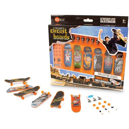Tony Hawk Circuit Boards By Hexbug  6 Pack Boards  Graphics May Vary