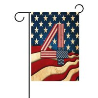 POPCreation 4Th of July American Flag Garden Flag Outdoor Flag Home Party 28x40 inches