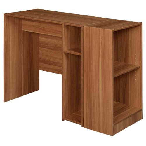 Niche No Tools Assmebly 31-inch Desk with 2-shelf Bookcase Warm Cherry