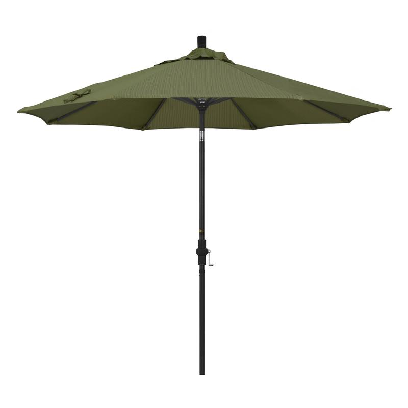 California Umbrella Tahoe Series Patio Market Umbrella in Olefin with Aluminum Pole... by California Umbrella