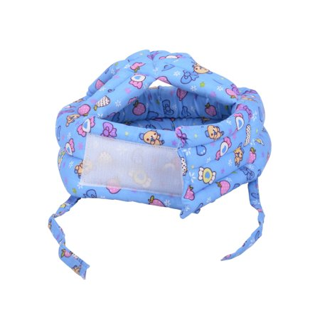 Baby Safety Helmet Toddler Head Protection Cap Adjustable, Blue Candy