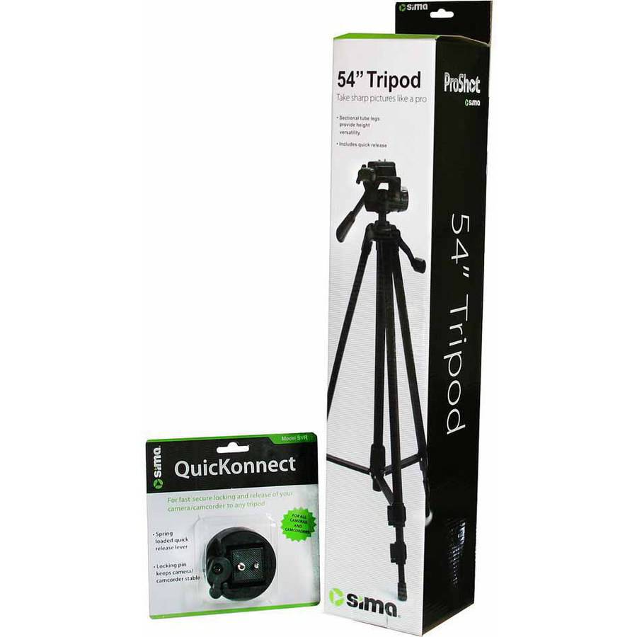 54IN TRIPOD W/QUIK CONECT BNDLE
