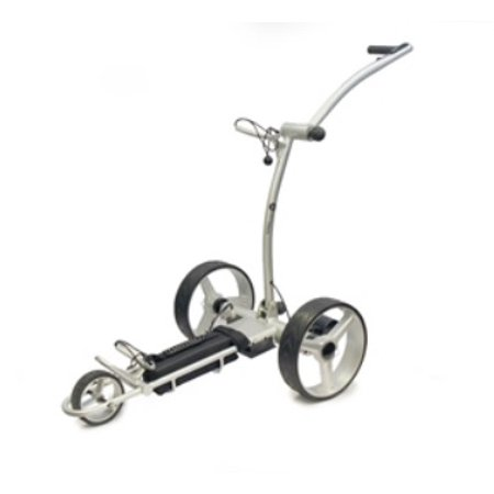 Spitzer Golf EL100 Lightweight Aluminum Lithium-ION Electric Trolley (The Best Electric Golf Trolley)