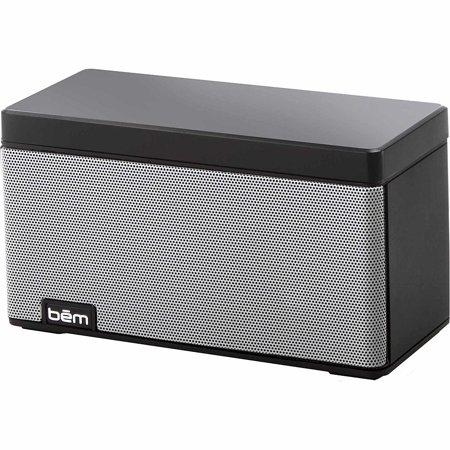 Bem Hl2505b Wireless Bluetooth Speaker With Desk Lamp Black Open Box Like New