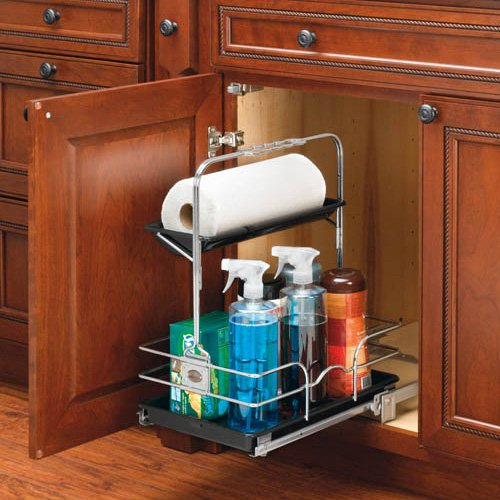 Rev-a-Shelf Undersink Pullout Removable Cleaning Caddy