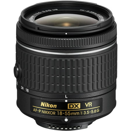 Nikon AF-P DX NIKKOR 18-55mm f/3.5-5.6G VR Lens (Best Lenses For Nikon Dx Format)
