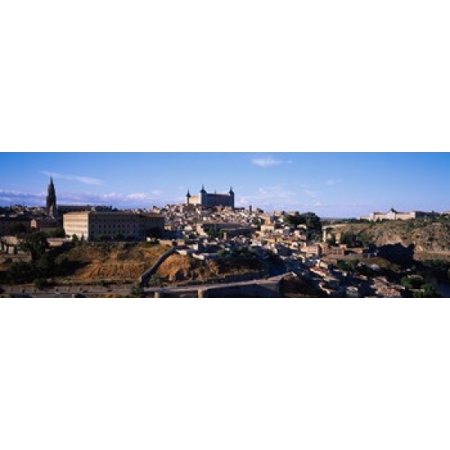 Buildings in a city Toledo Toledo Province Castilla La Mancha Spain Poster Print - Party City Toledo