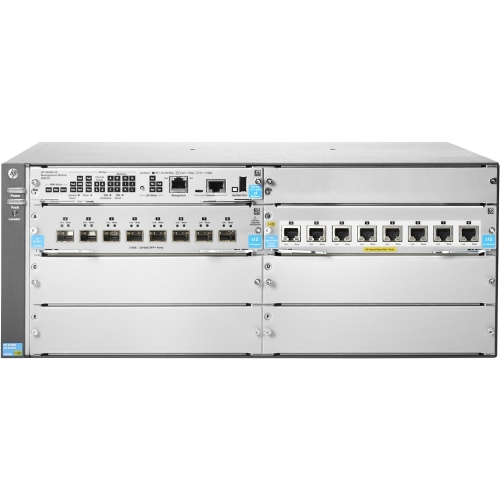 HP 5406R 8XGT PoE plus 8SFP plus v3 zl2 Swch JL002A Network Switches by HP